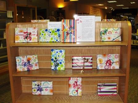 Blind Date with a Book displays 4-4-13 013