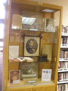 Lincoln artifacts on display @ WDFPL